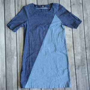 Kate Spade Saturday Chambray Dress Sz XS